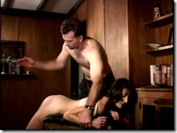 Erica Scott spanked by Steve Fuller in Shadow Lane's The Spanking Professor